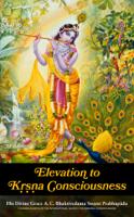 His Divine Grace A. C. Bhaktivedanta Swami Prabhupāda - Elevation to Krsna Consciousness artwork