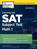 Cracking the SAT Subject Test in Math 1, 2nd Edition Book Cover