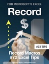 Record For Microsoft Excel 2016