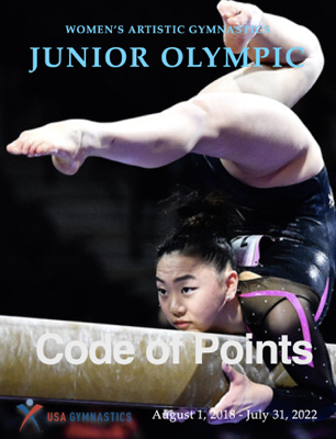 Code of Points - USA Gymnastics JO Program book