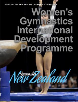 Women's Gymnastics International  Development  Programme - Mary Wright book