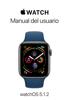 Apple Inc. - Manual del usuario de Apple Watch ilustración