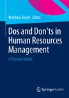 Dos And Donts In Human Resources Management