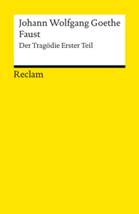 Faust. Erster Teil Buch-Cover