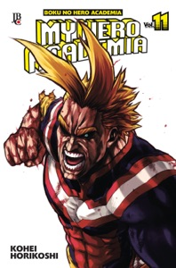 My Hero Academia vol. 11 Book Cover