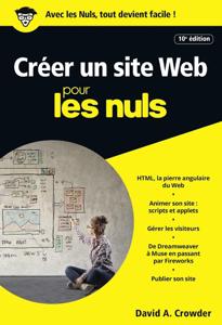 Créer un site Web pour les Nuls, 10e édition La couverture du livre martien