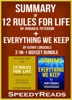 Summary of 12 Rules for Life: An Antidote to Chaos by Jordan B. Peterson + Summary of Everything We Keep by Kerry Lonsdale