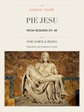 Pie Jesu, From Requiem, Op. 48