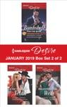 Harlequin Desire January 2019 - Box Set 2 Of 2