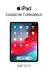 Apple Inc. - Guide de l'utilisateur de l'iPad pour iOS 12.1.1 Grafik