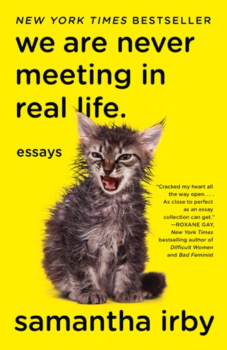 We Are Never Meeting in Real Life. - Samantha Irby
