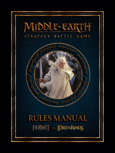 Middle-earth™ Strategy Battle Game Rules Manual  Enhanced Edition La couverture du livre martien