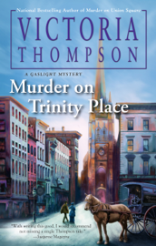 Murder on Trinity Place book