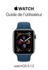 Apple Inc. - Guide de l'utilisateur de l'Apple Watch artwork