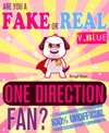 Are You A Fake Or Real One Direction Fan Version Blue The 100 Unofficial Quiz And Facts Trivia Travel Set Game