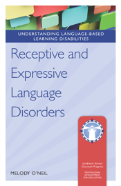 Receptive and Expressive Language Disorders