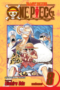 One Piece, Vol. 8 Libro Cover