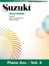 Suzuki Cello School - Volume 4 (Revised)