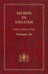 Sichos In English Volume 16 Kislev-Nissan 5743