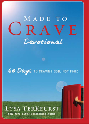 Made to Crave Devotional - Lysa TerKeurst book