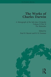 THE WORKS OF CHARLES DARWIN: VOL 13: A MONOGRAPH ON THE SUB-CLASS CIRRIPEDIA (1854), VOL II, PART 2