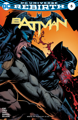 Batman (2016-) #5 - Tom King & David Finch book