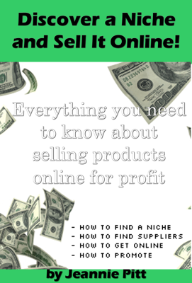 Discover a Niche and Sell It Online - Jeannie Pitt book