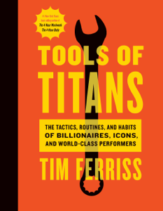 Tools of Titans Libro Cover