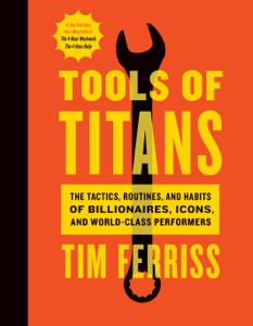Tools of Titans Cover Book
