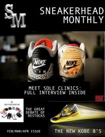 Sneakerhead Monthly Magazine book
