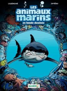 Les animaux marins - Tome 1 La couverture du livre martien