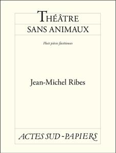 Théâtre sans animaux La couverture du livre martien