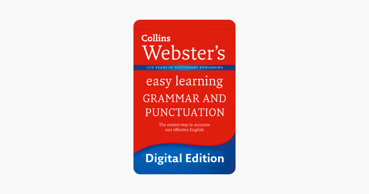 English Verbs (Collins Webster's Easy Learning)