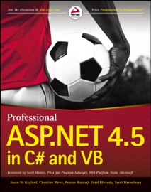 Professional ASP.NET 4.5 in C# and VB PDF Download