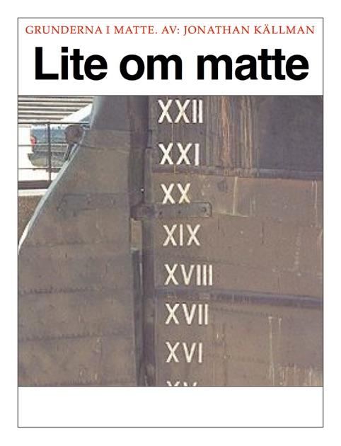 Lite om matte by Jonathan Källman on Apple Books