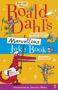 Roald Dahl's Marvellous Joke Book Libro Cover