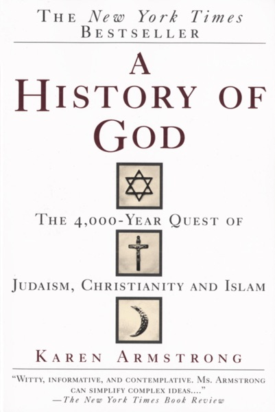 A History of God - Karen Armstrong book cover