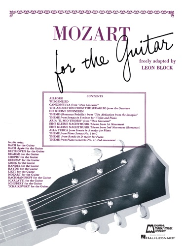 Read Mozart For Guitar Songbook Online Free By Wolfgang Amadeus