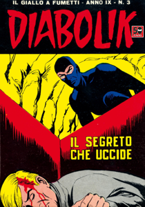 DIABOLIK (157) Copertina del libro