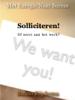 Benno Rijpkema - Solliciteren! artwork