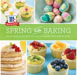 Spring Into Baking book
