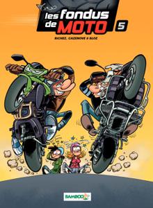 Les Fondus de moto - Tome 5 La couverture du livre martien