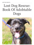 Lost Dog Rescue: Book of Adobtable Dogs