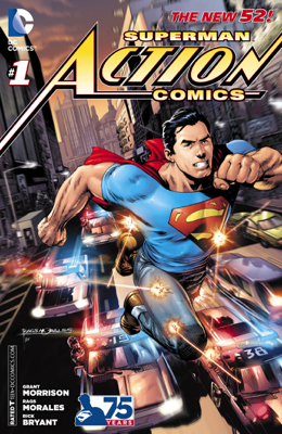 Action Comics (2011-) #1 - Grant Morrison & Rags Morales book