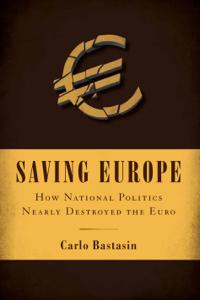 Saving Europe Copertina del libro