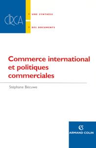 Commerce international et politiques commerciales La couverture du livre martien