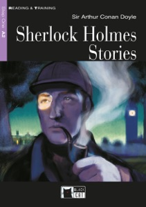Sherlock Holmes Stories Book Cover