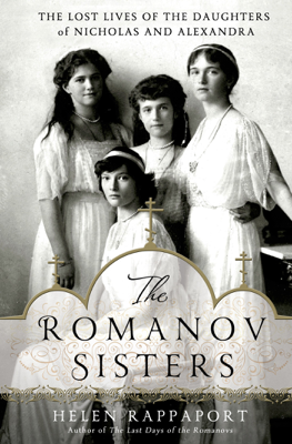 The Romanov Sisters - Helen Rappaport book