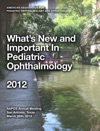 Whats New And Important In Pediatric Ophthalmology