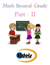 Math Second Grade Part - II